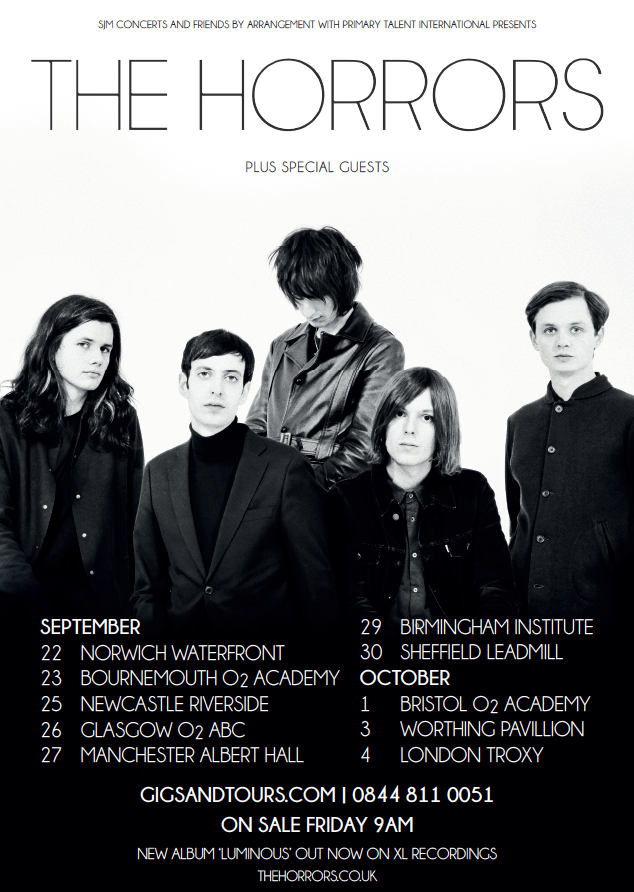 The Horrors Announce UK Tour