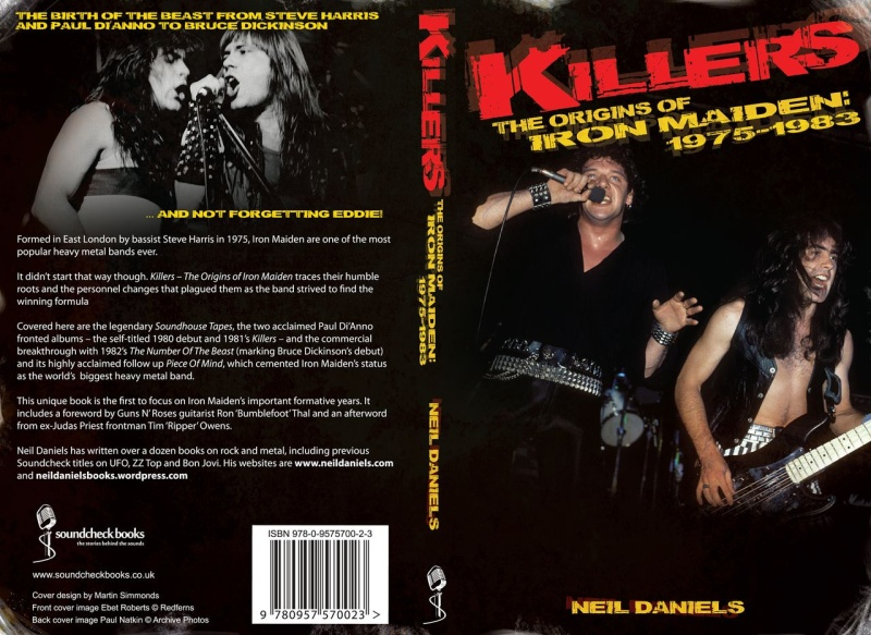 BOOK REVIEW: KILLERS, THE ORIGINS OF IRON MAIDEN: 1975-1983 BY NEIL DANIELS
